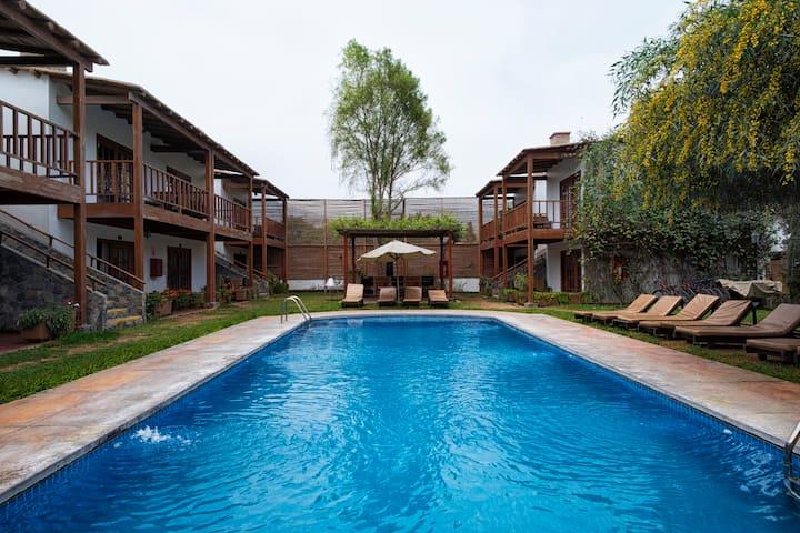 Habitación Hotel Cieneguilla