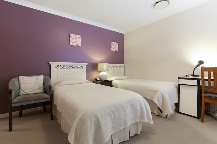 Arcadian BnB Perth - Twin Bed Room