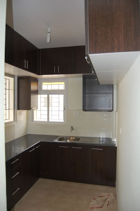 well ventilated kitchen