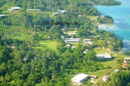 St Rose of Lima Guest House, Nila - Shortland Islands - Szoba reggelivel