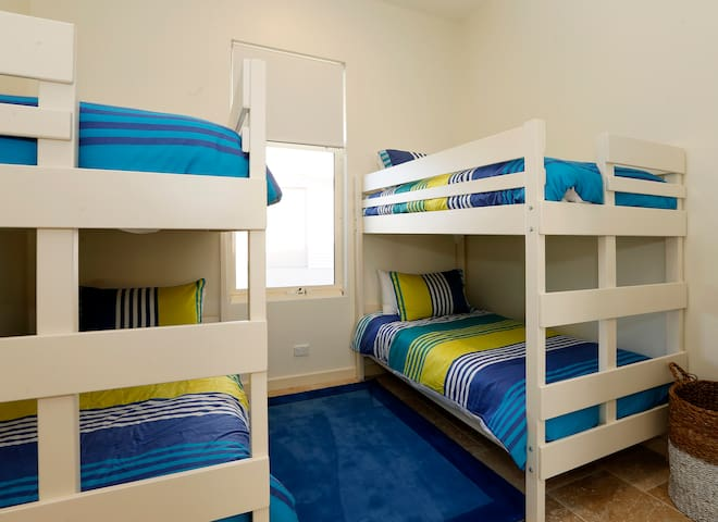 Bunk Room sleeping 4, ideal for children
