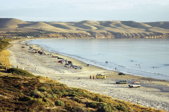 Beautiful Aldinga Beach, Fleurieu Peninsula, South Australia