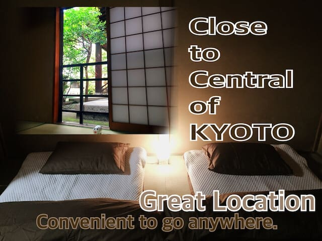 Central Area/Near Gion/Free Wi-Fi - 京都市