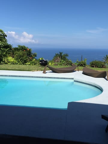 Ocean View Poolside Bungalow