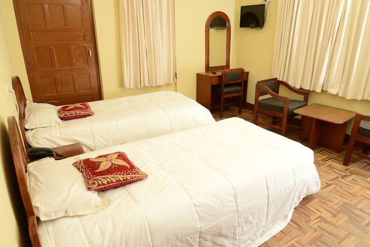 Hotel horizon kathmandu, Standard Twin Bed 2pax