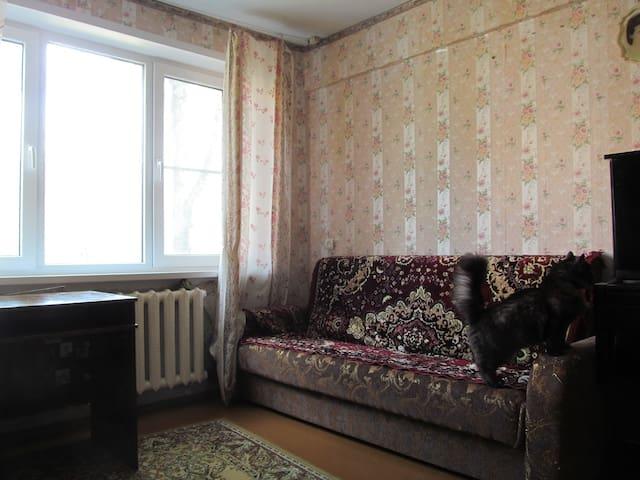 Удобная комната в большой квартире - Novomoskovsk - Apartment