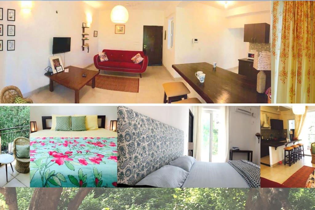 Living n bedrooms