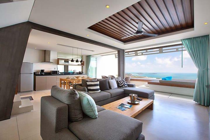 Villa-Apt 2 chambres Aqua Samui - Koh Samui - Lägenhet