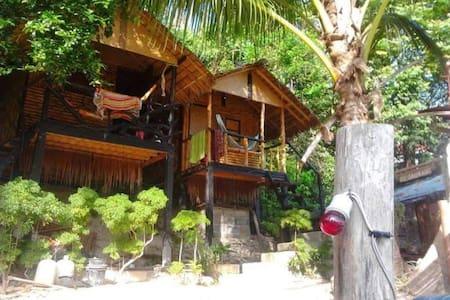 Bungalow 3 face à la mer - Ko Pha Ngan