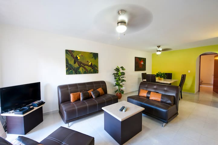 Casa Tucanes 10%off 1block/5Av./sea - Playa del Carmen - Appartement