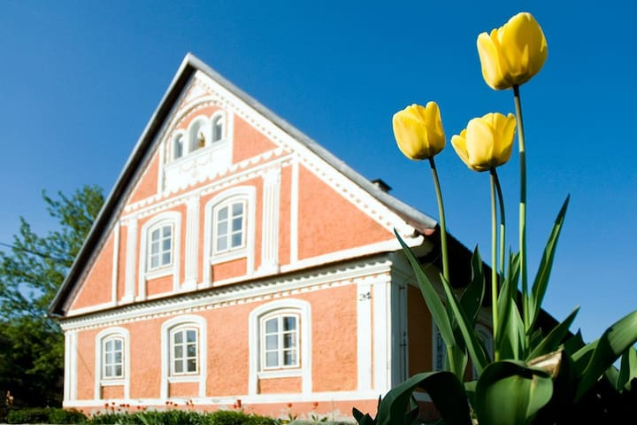 Farmhouse Ružová chalupa - celý objekt - Rtyně v Podkrkonoší - Hus