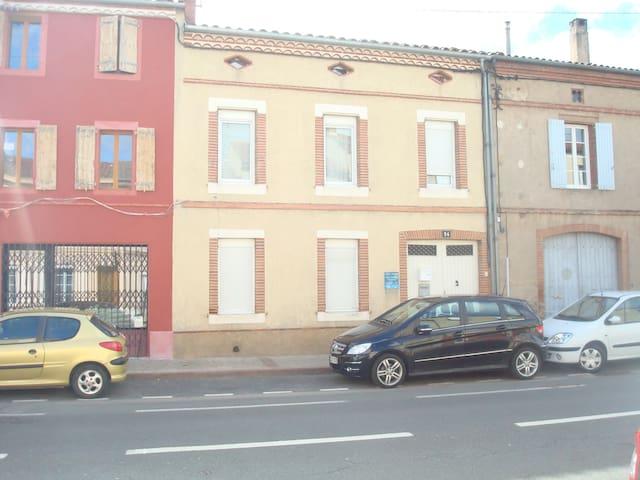 Appart 53m2  1°  centre ville 2chbres terrasse - Albi - Wohnung