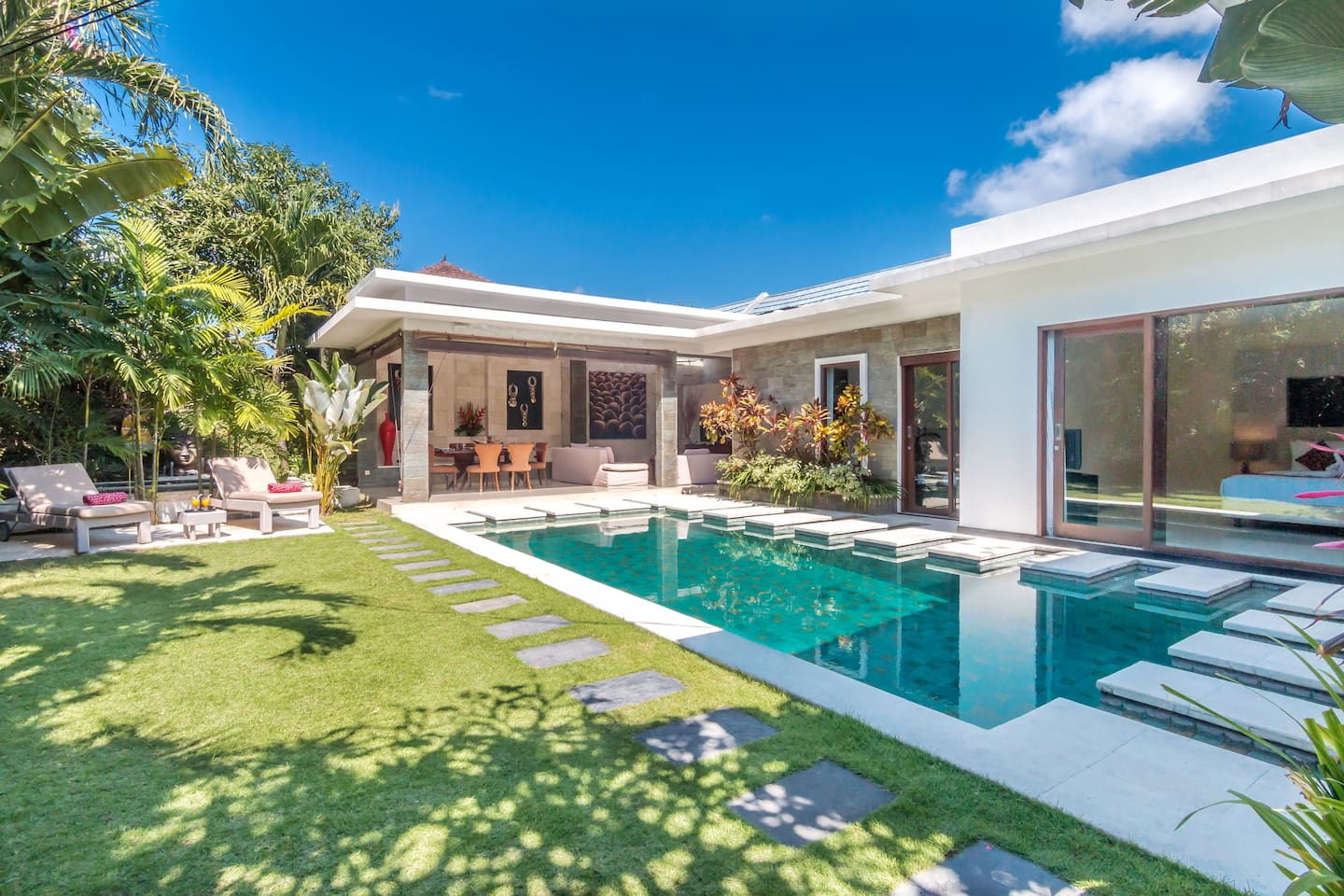 The beautiful 3 bedroom Villa with private swimming pool