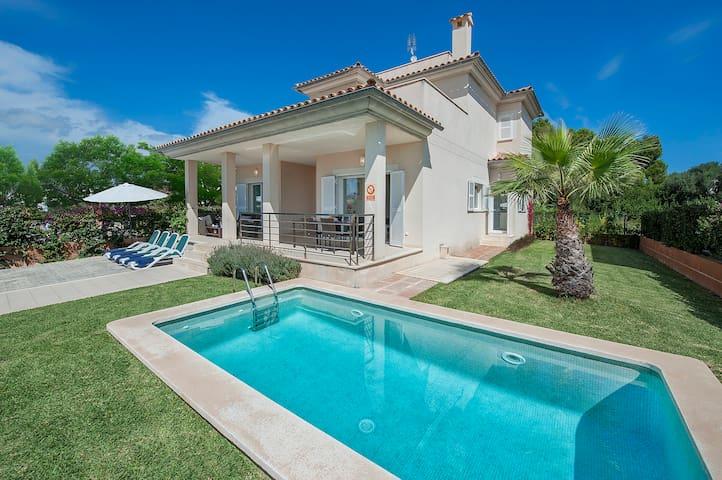 Villa Luisa en playa con piscina - アルクディア - 別荘