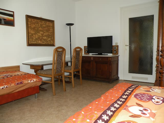 office corner with multimedia access