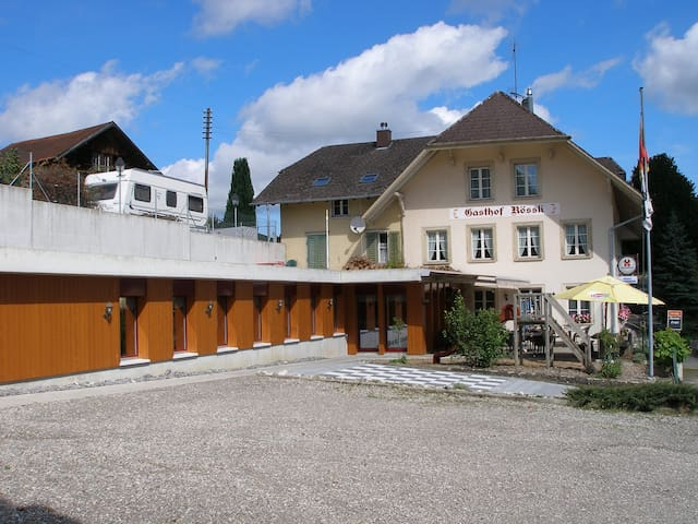 Dachstudio im Dorf - Wyssachen