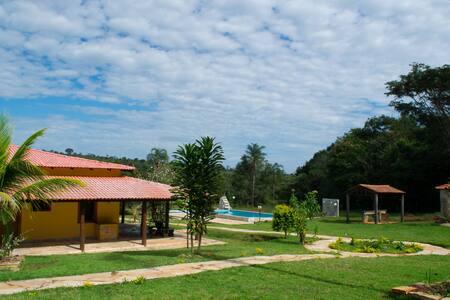 Pousada Terra Santa, suite casal 07 - Pirenópolis