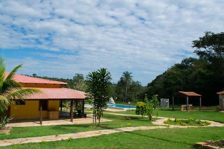 Pousada Terra Santa, suite casal 03 - Pirenópolis