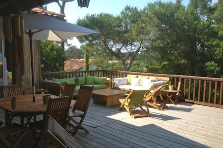 Villa Vue Bassin Grand Terrain clos - Lège-Cap-Ferret