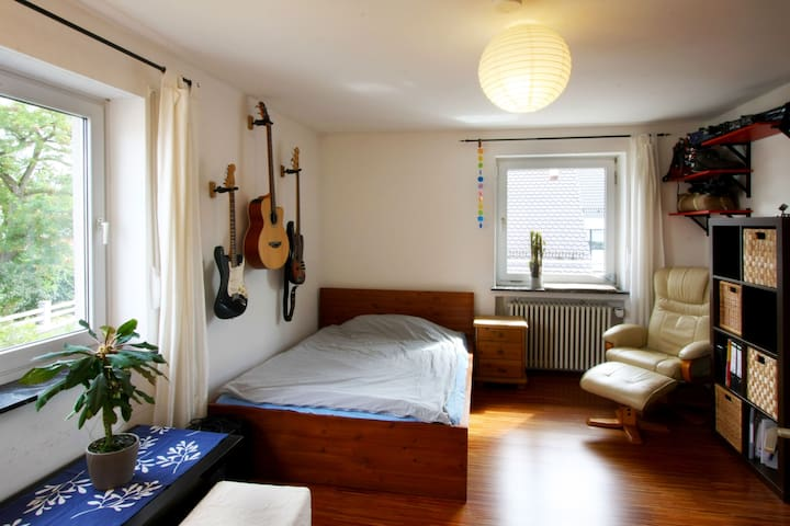Guestroom in familiar atmosphere