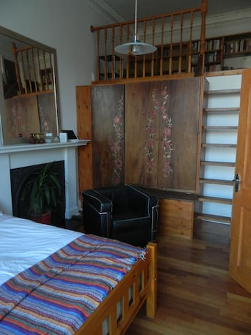 Lovely Double Room quiet, central - Edinburgh - Apartment