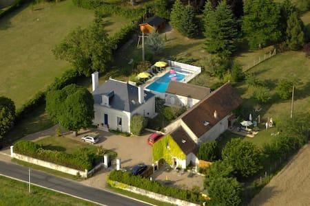 Confortable gîte de charme - Chambourg-sur-Indre - House