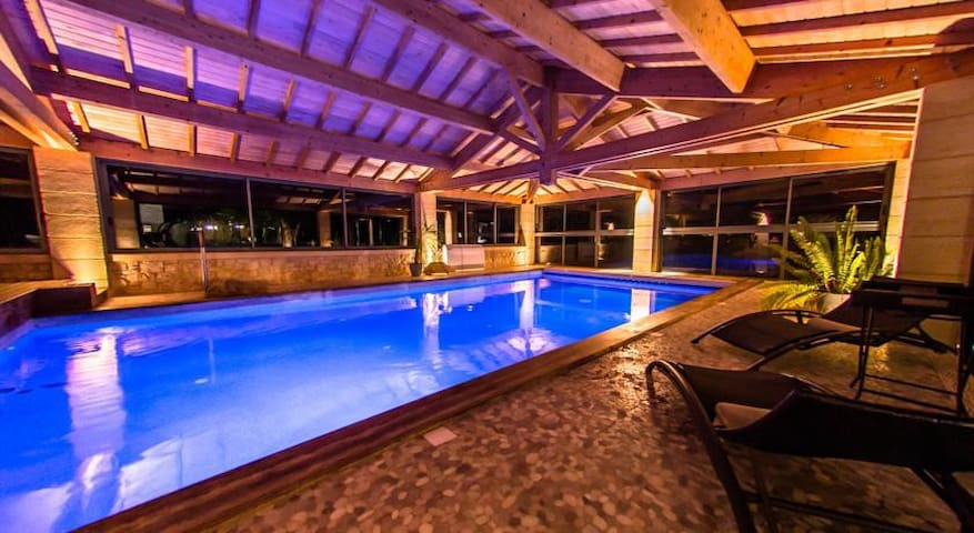 Villa de luxe 16pers, piscine, spa - Sarlat-la-Canéda - วิลล่า