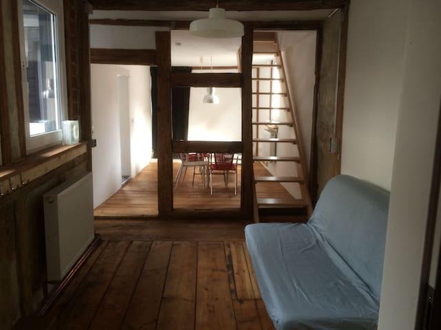 Frisch renovierte Altbauwohnung - Coburg - Apartemen