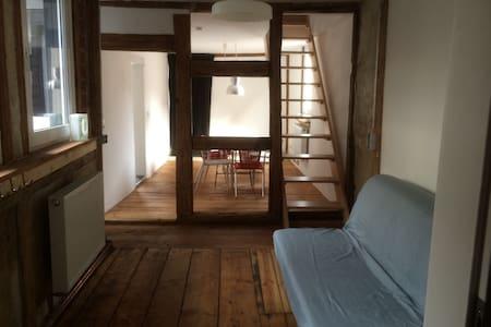 Frisch renovierte Altbauwohnung - Coburg - Daire