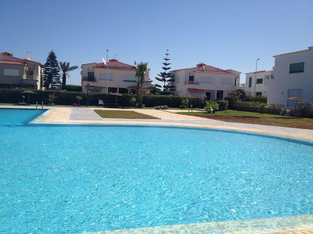Villa de luxe avec piscine et plage - El Mansouria  - Vila