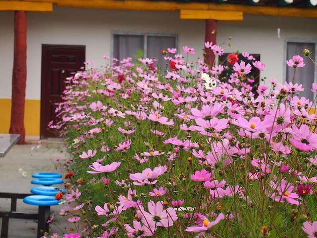 XinDuQiao Town Tibetan Style Bedroom ( 1 King bed)