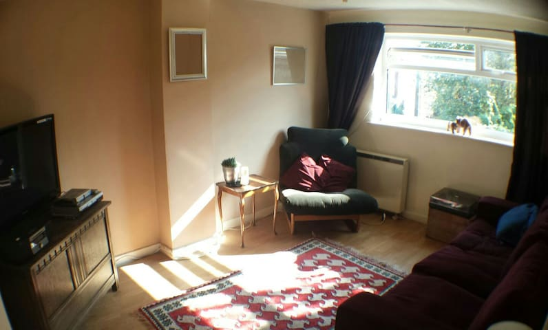 1 bedroom flat next to a river - Parbold - Daire