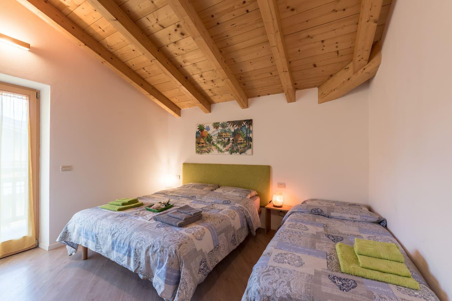 Camera con letto aggiuntivo