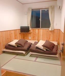 お部屋は和室です。 Your room is Japanese style room.