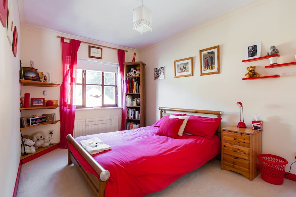Bright and airy double room.