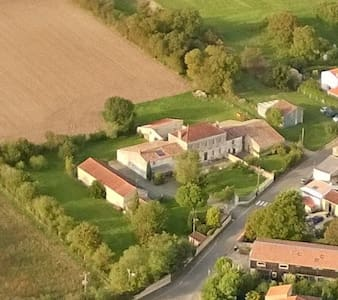 Quiet cottage near La Rochelle - Saint-Médard-d'Aunis - บ้าน