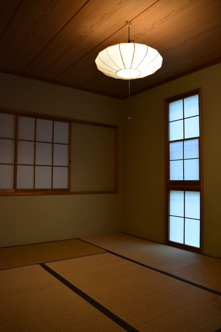 Japanese traditional private  room.