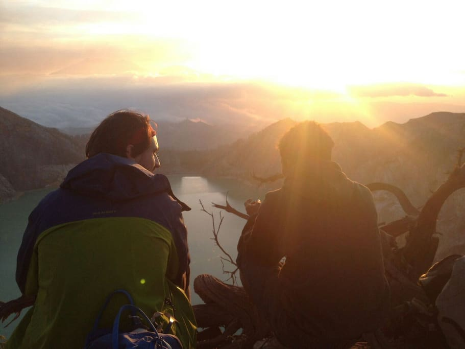 Sunset ijen
