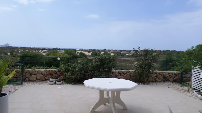 Furnished garden apartment 2 rooms  - Caesarea - Apartment