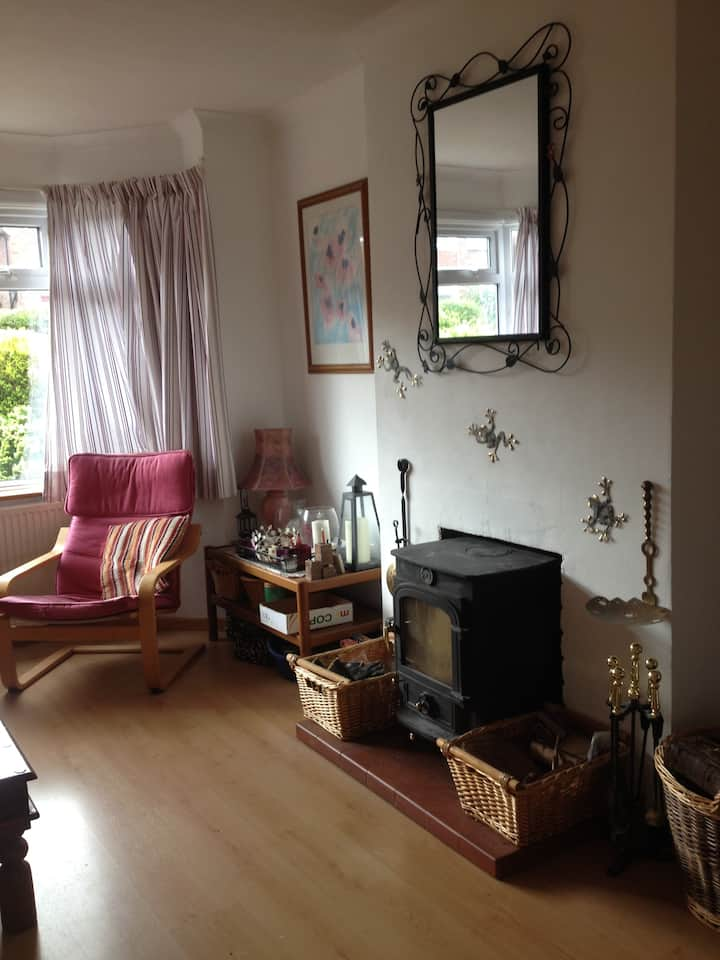 Comfortable and relaxing double room 3!