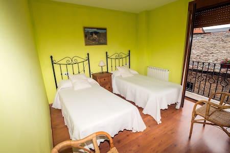 Habitación doble 2 camas - Molinaseca