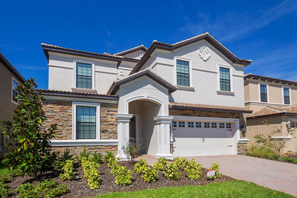 This 9 bedroom ChampionsGate resort home offers upscale amenities, comfort and the convenience of being only minutes from the Walt Disney World® main gate!