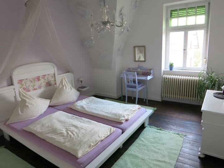 Comfortable apartment with a garden