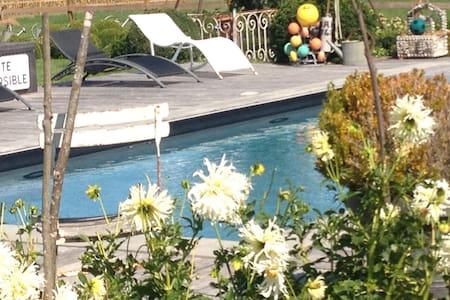 Maison de charme en basses vallées - Soulaire-et-Bourg