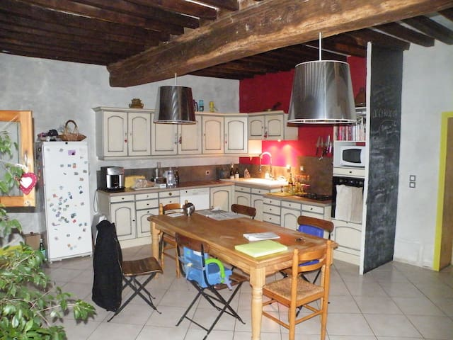 Maison ancienne en Beaujolais - Romanèche-Thorins - Dům