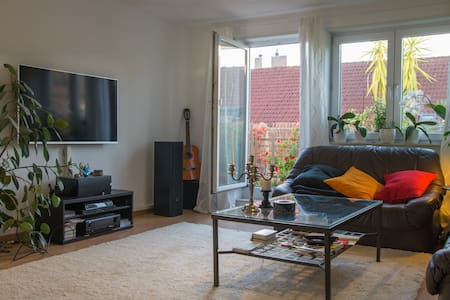 Moderne, helle Wohnung + Fahrräder - Eppelheim