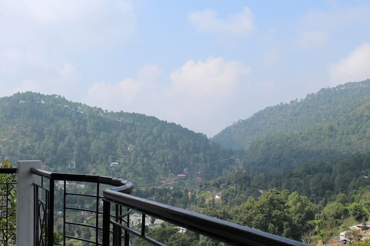 View from Dining balcony