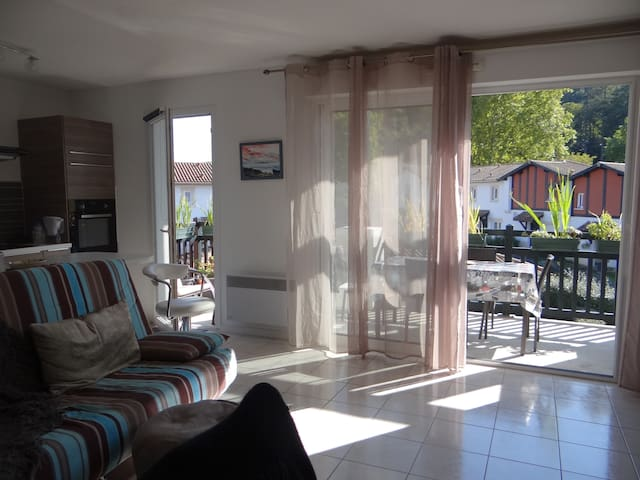 Chambre dans un appartement 2ème E. - Cambo-les-Bains - Apartemen