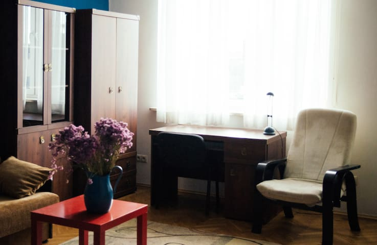 Cosy studio flat 15m to Main Square /no kitchen/ - Kraków - Apartemen
