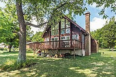 Waterfront Chalet - Prince Frederick - Hus